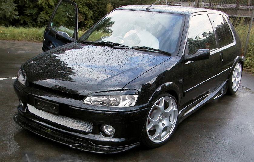 Peugeot 106 Gti Black. Onyx Black S2 Rallye